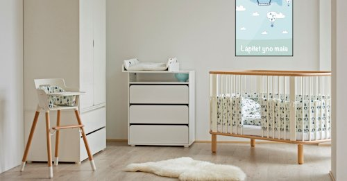 Die Flexa Erstausstattung für das Baby Zimmer ist der Grundstein