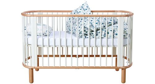 Das Flexa Baby Gitterbett in zeitlosem Design