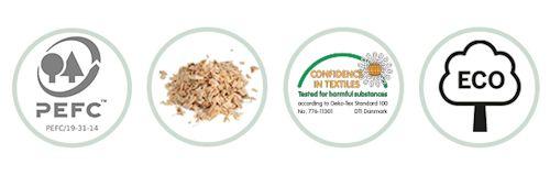 PEFC-zertifizierte Nachhaltigkeit, natürlich, gesundheitlich, ökologisch