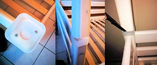 Umbau zum Etagenbett mittels Erweiterungssatz für Flexa Classic Etagenbetten