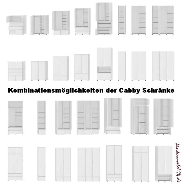 Flexa Cabby Kleiderschränke
