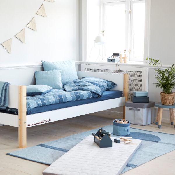 Flexa White Einzelbett mit Schubladen