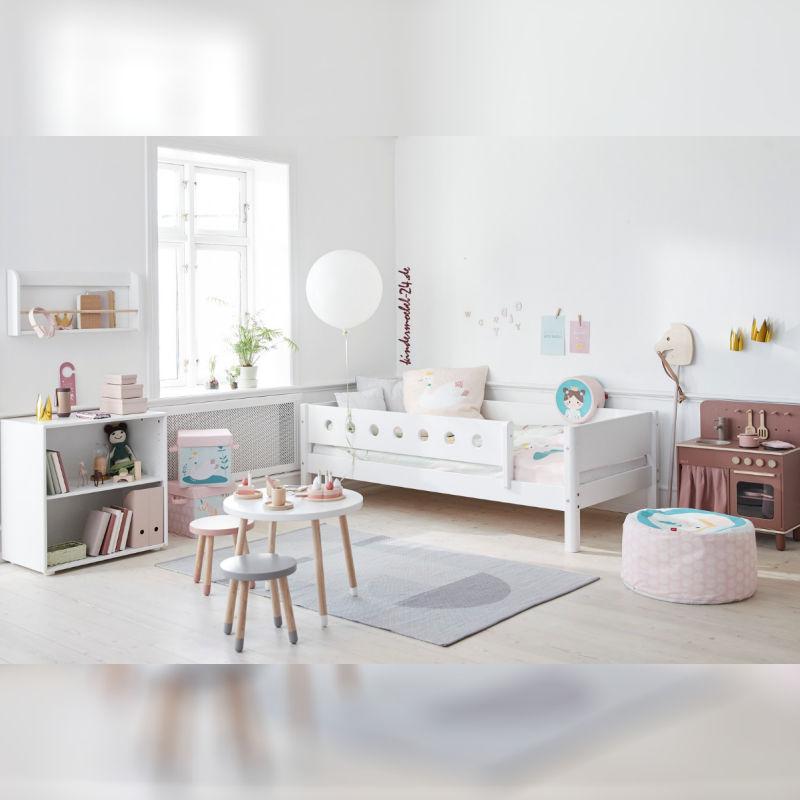 Flexa White Einzelbett als Basisbett