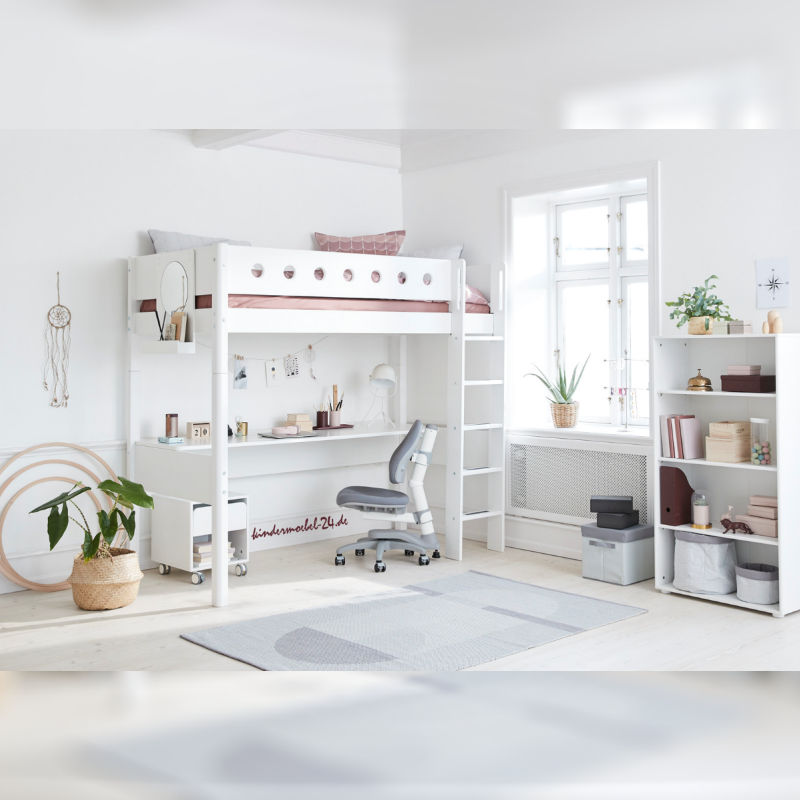 Flexa White Hochbett Kinderzimmer