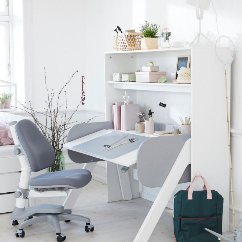 Flexa Woody Schreibtisch mit Regalwand